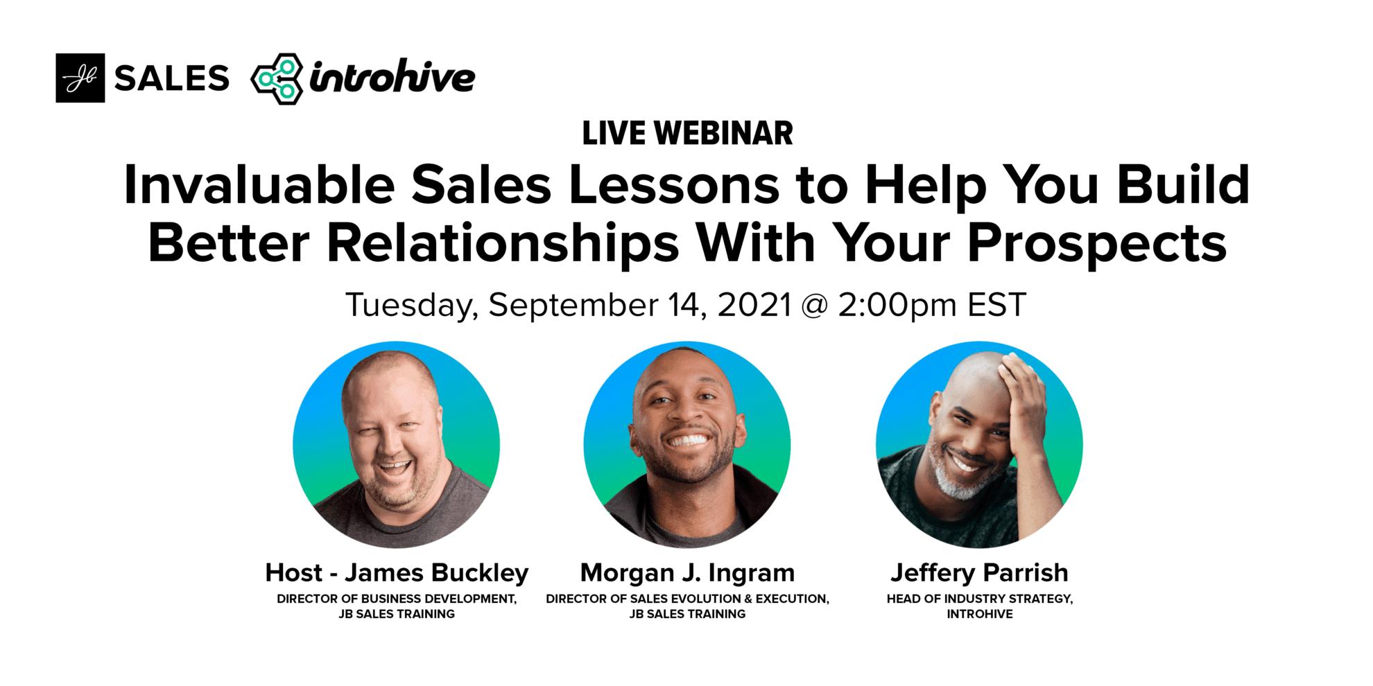 JB Sales September 14th